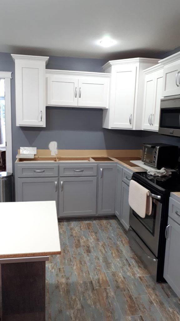Kitchen Renovation Cabinet Doors Repaint